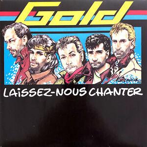 """Gold 7"""" Laissez-Nous Chanter - France (EX/EX+)"""