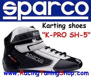 quality design 6071c d59c1 Details about SCARPE KART SPARCO K-PRO SH-5 SIZE EUR 46 - KARTING SHOES  BLACK SPARCO KARTING