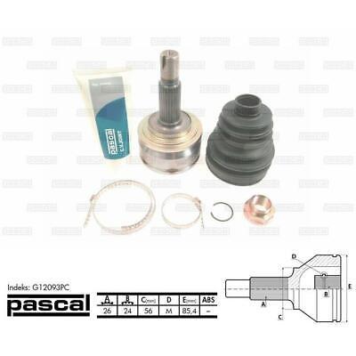 Gelenksatz Antriebswelle PASCAL G1A060PC