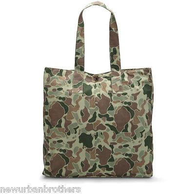 NWT Edwin Herringbone Camo Tote Bag RRP $120