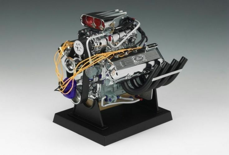 Ford Top Fuel 427 Cid SOHC Motore 1:6 - Modello Finito