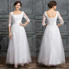 New lace BLACK/White wedding bridal gown dress IN STOCK size 2-4-6-8-10-12-14-16