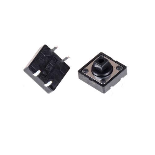 10pcs Momentary Tact Tactile Push Button Switch 12x12x12mm 4 Pin C  EW