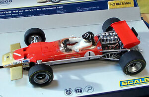 SCALEXTRIC-1-32-C3701A-TEAM-LOTUS-49-GRAHAM-HILL-1-LIMITED-EDITION-NIB