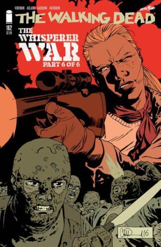 Walking Dead #162A Near Mint 9.4 2017 Unltd Flat Rate Ship-Use Cart 1st Print