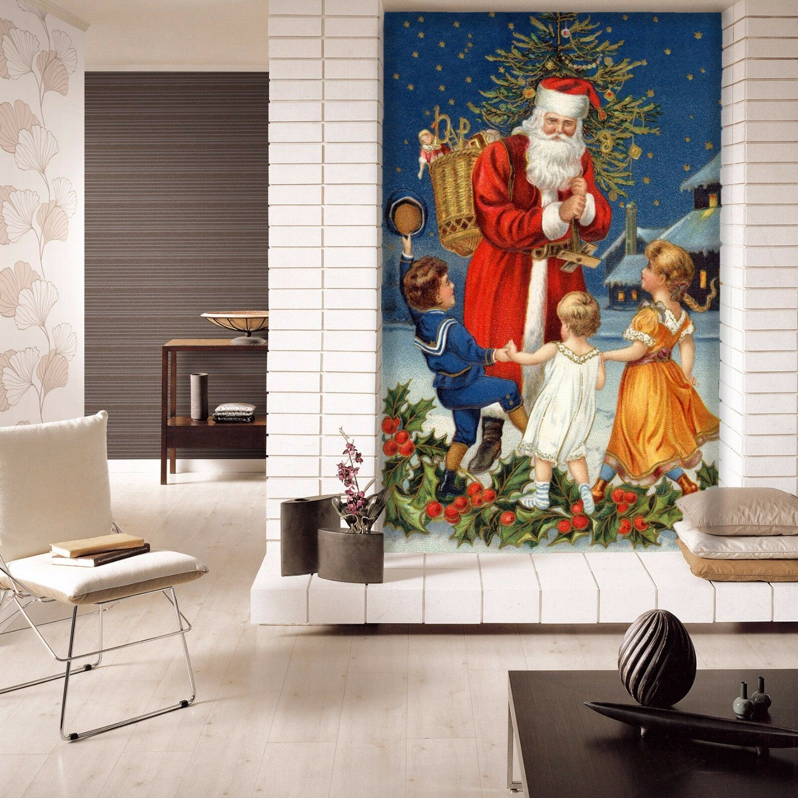 3D Santa Claus 52 Wallpaper Murals Wall Print Wallpaper Mural AJ WALL AU