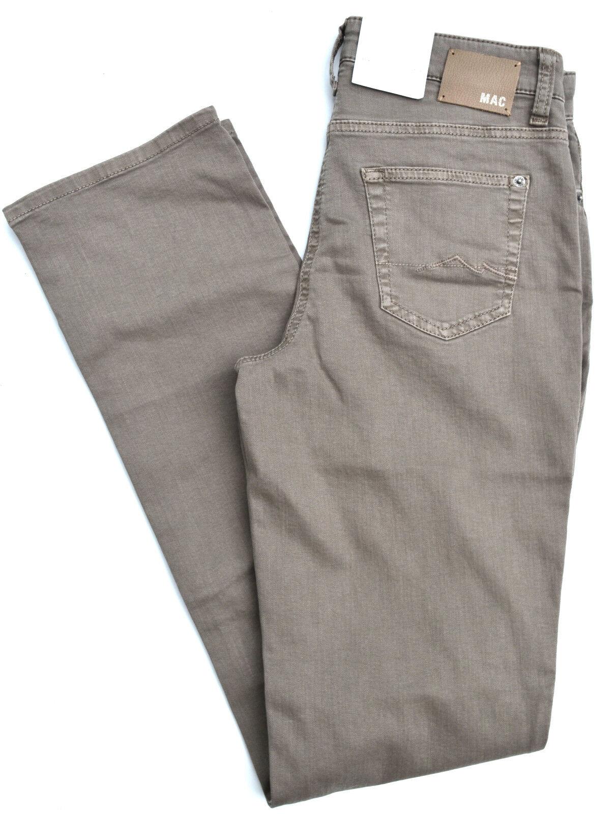 MAC Jeans MELANIE  Stretch hell brown straight fit Gr.38 L36 NEU