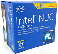 Intel Nuc Boxnuc5i3ryk 8gb 256g Ssd Wifi Bluetooth Nuc5i3ryk Mini Pc