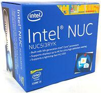 Intel Nuc Boxnuc5i3ryk 8gb 256g Ssd Wifi Bluetooth Nuc5i3ryk Mini Pc