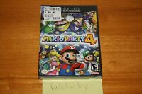 Mario Party 4 (nintendo Gamecube) - Sealed Y-fold, Mint, Rare