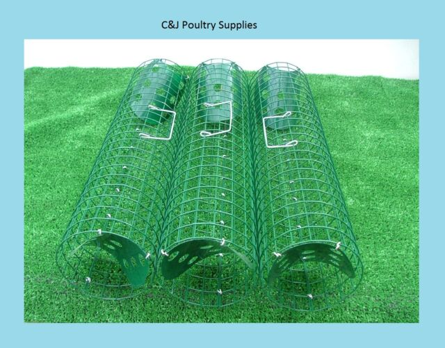 NEW RABBIT LIVE CATCH TUBES TRAP FERRETING VERMIN PEST X3