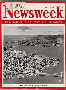 1945-Newsweek-April-30-Holocaust-discoveries-Charlie-Chaplin-Ernie-Pyle-killed