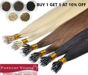 Hair-Extensions-Nano-Rings-AAA-Remy-Human-Hair-Brazilian-Full-Set-Rings-Free-UK