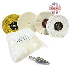 Polishing Kit 15 para los metales y plásticos (todos lo que necesitas es compuesto y un taladro)