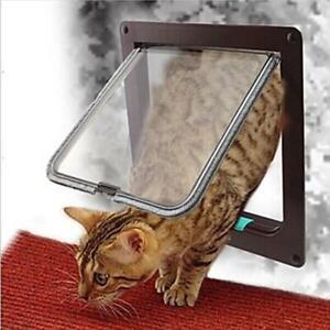Dog-And-Cat-Door-Flap-Sliding-Glass-For-Walls-Window-Secure-Locking-Pet-Door