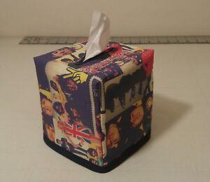 New-034-The-Beatles-034-Tissue-Box-Cover-Handmade