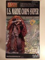 Elite Force 12 1/6 Scale Us Marine Corps Sniper snake Figure Blue Box Bbi