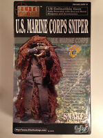 Elite Force 12 1/6 Scale Us Marine Corps Sniper snake Figure Blue Box Bbi