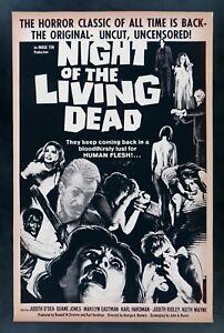 Night Of The Living Dead Original Movie Poster