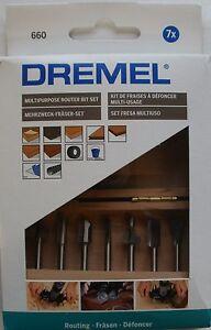 Dremel 660 Dremel Multipurpose Router Bit Set