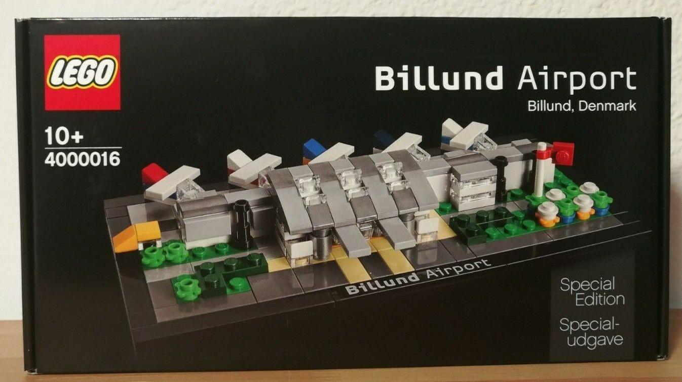 LEGO 4000016 BILLUND AIRPORT nuovo UNOPENED  RARE EXCLUSIVE specialee edizione  100% di contro garanzia genuina