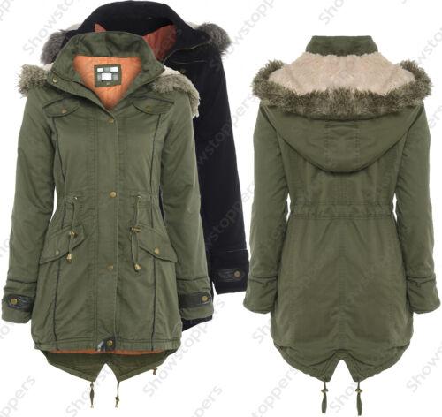 Coat 48 Parka 40 It Jas Oversize Fishtail Dames Hooded New wq1zqCxZ
