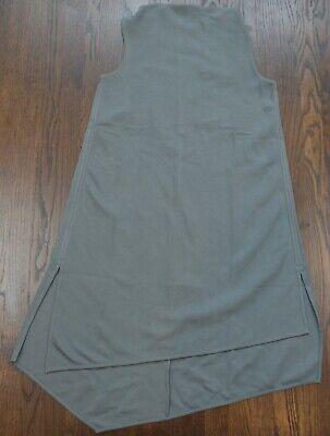 Womens COS light gray asymetrical sleeveless shift dress size XS  $115 tag NWT