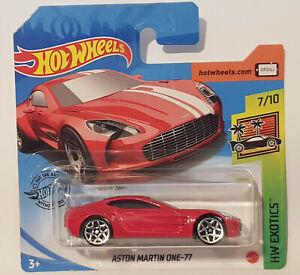 2020 Hot Wheels Aston Martin One 77 Red Rot Neu Ovp Ebay