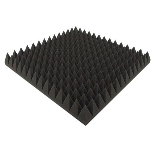 Akustikpur Pyramidenschaumstoff 7cm SELBSTKLEBEND Akustik Schaumstoff Dämmung