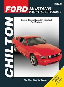 2005 ford mustang workshop manual