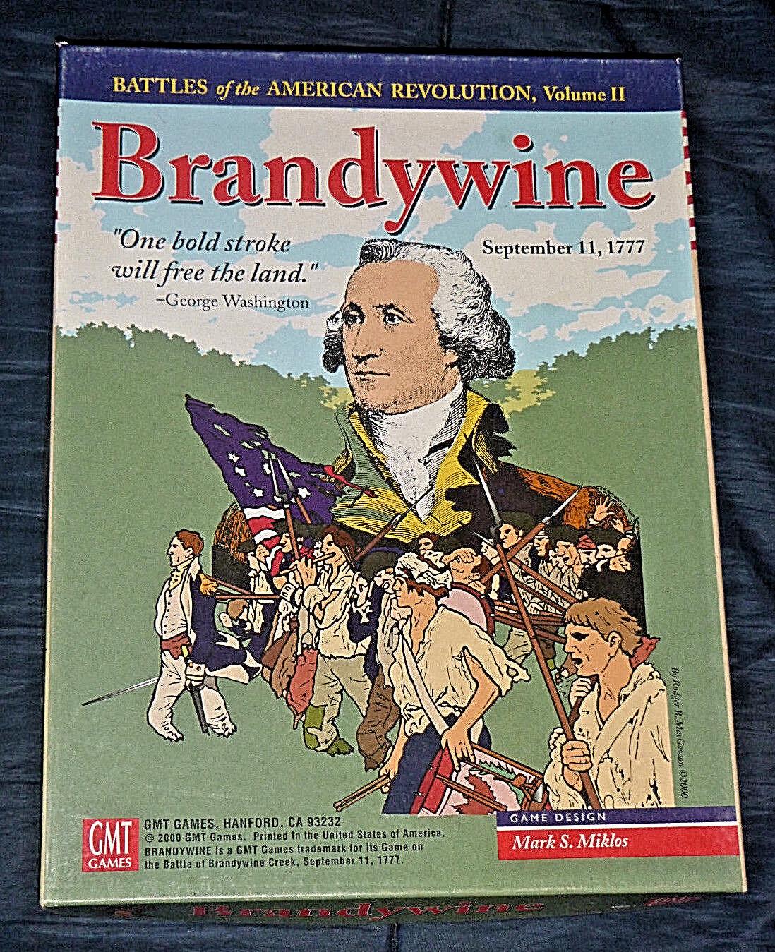 Brandywine : September 11, 1777 - GMT