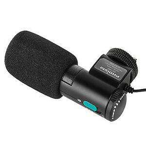 Cameras & Photo Phoism Professional Stereo Microphone Sg-168s Video Dslr Camera Camcorder Use