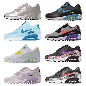 La foto se está cargando Nike-Air-Max-90-grade-school-Chicas-Juvenil-