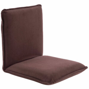 Pleasing Details About Brown 5 Position Tatami Chair Folding Small Sofa Bed Soft Brushed Polyester Gamerscity Chair Design For Home Gamerscityorg