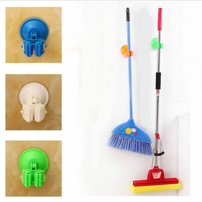 Hanger Suction Organizer Vacuum Hot Storage Wall New House Mop Holder Broom Cup