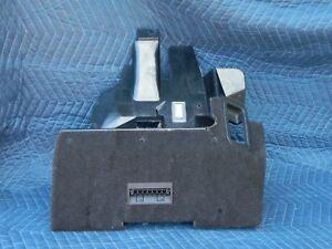 Knee-Bolster-Lower-Under-Dash-Hush-Kick-Panel-Black-1990-C4-Corvette-LH-Driver