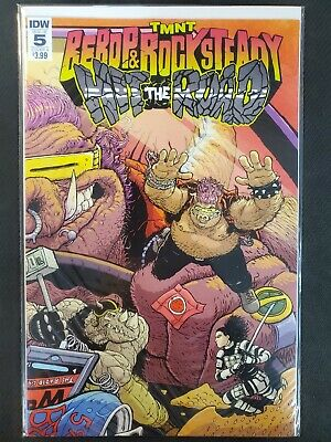 TMNT Bebop /& Rocksteady Hit the Road #5 B Cover IDW NM Comics Book