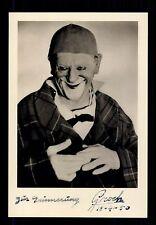 Grock  ++Autogramm++ ++ Clown Legende ++CH 101