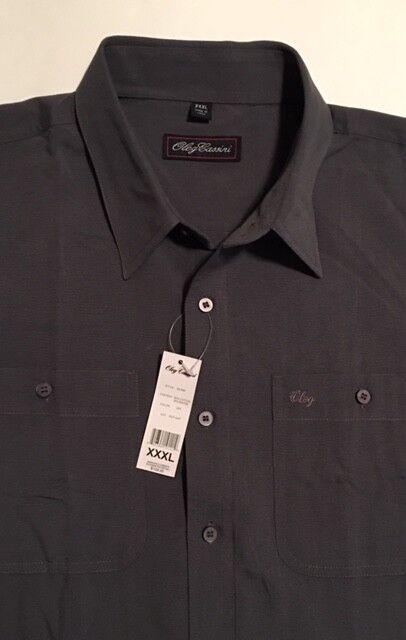 NWT Men's Oleg Cassini Shirt Size XXXL Button Down Long Sleeve Blend MSRP