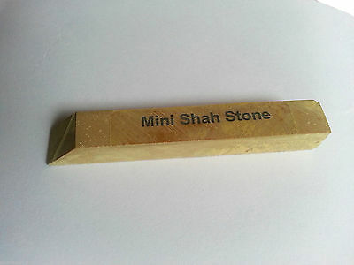 Mini Cut Shah Stone replacement for Water of Ayr stone polishing Jewellers