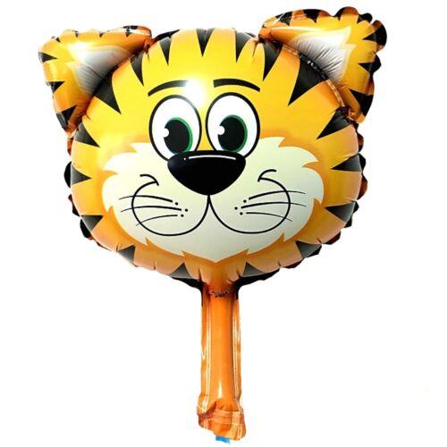 Tiger Folienballon Luftballon Kinder Geburtstag Deko