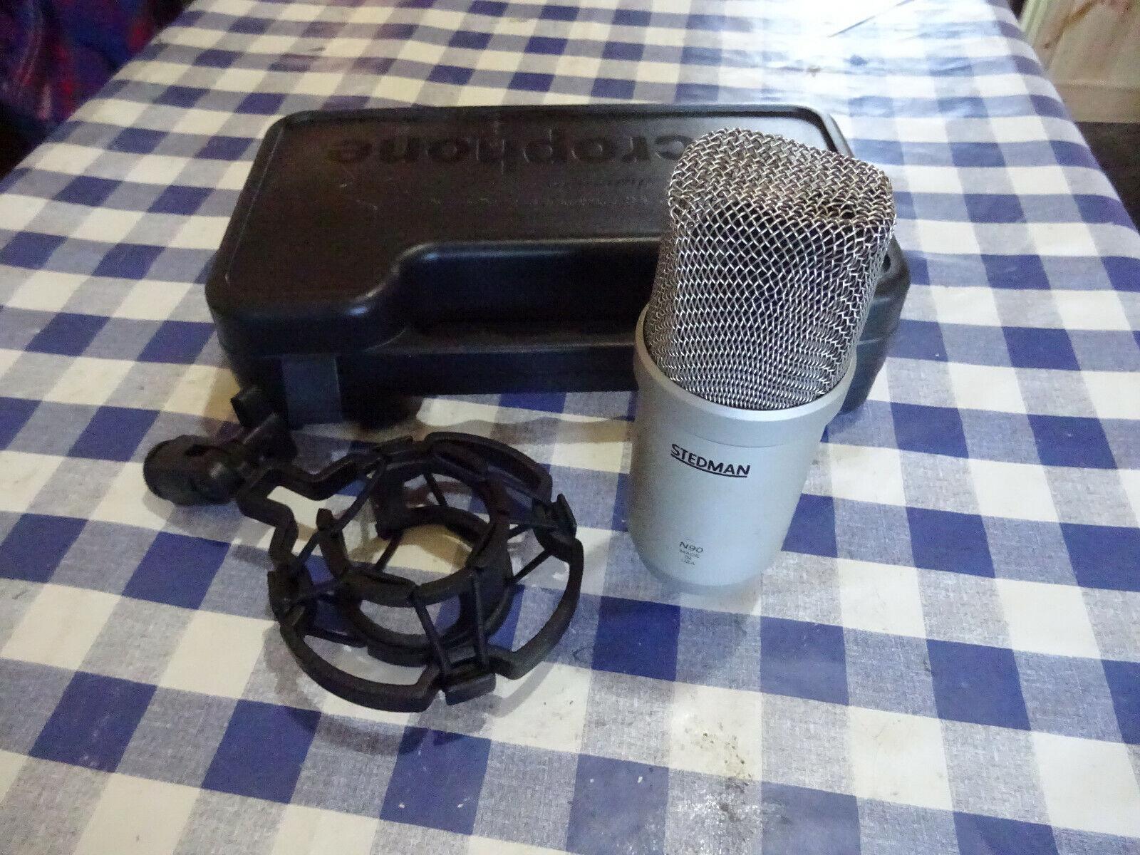 Stedman N90. Large Diaphragm Dynamic Microphone. Hand Made in USA.