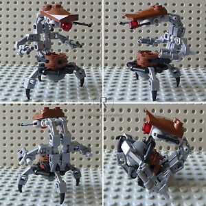 LEGO-STAR-WARS-2x-Figur-Droidika-Droideka-Destroyer-Kampf-Droid-sw348-D01-NEU