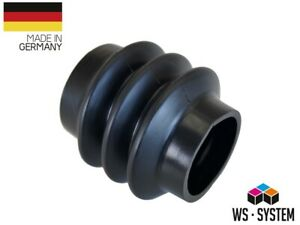 2 Stück Universal Faltenbalg Manschette Achsmanschette L 90mm-220mm Ø 56mm