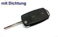 2Tasten Klappschlüssel für VW GOLF BORA PASSAT TOURAN NEW BEETLE POLO CADDY