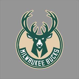 Milwaukee Bucks NBA Team Logo Vinyl Decal Sticker Car Window - Custom vinyl decals milwaukee