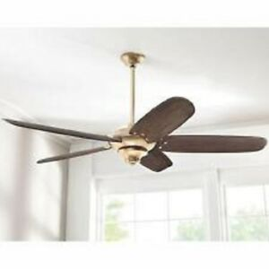 Hdc Altura Dc 68 In Indoor Brushed Gold Ceiling Fan