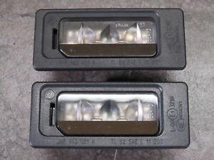 2x Kennzeichenleuchte LED hinten VW EOS Golf 6 VI Polo 6R Passat 3AF Touran 1T3