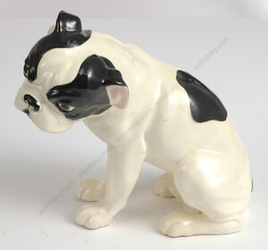 "Ca Hot Sale Wiener Kunstkeramische Werkstaette ""bully"" Ceramic Figure 1910 Bracing Up The Whole System And Strengthening It"
