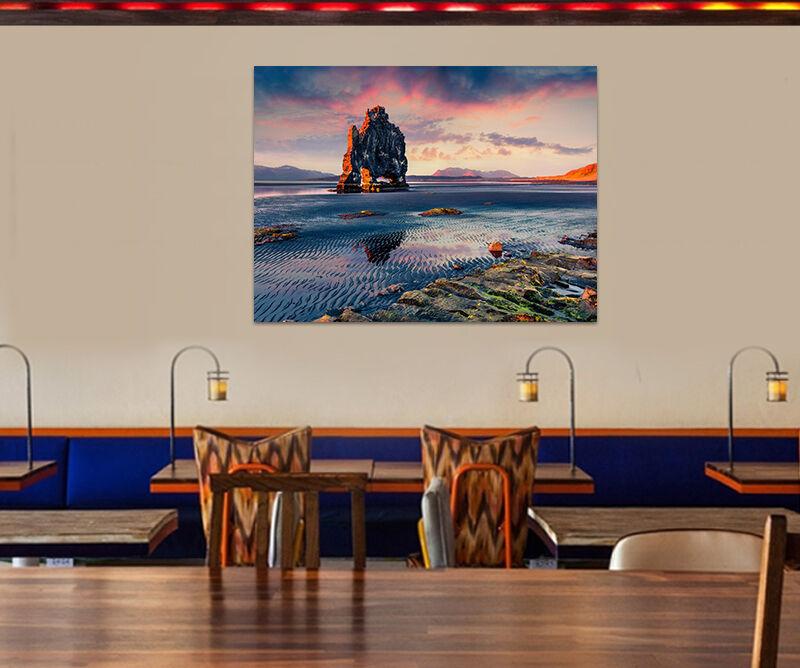 3D Sehr Großer Stein Abendrot 8 Fototapeten Wandbild BildTapete AJSTORE DE Lemon